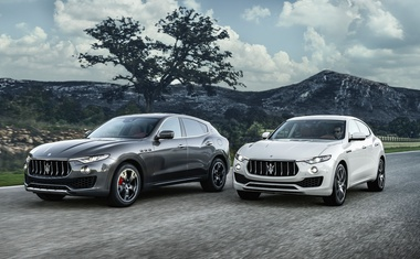 Novo v Sloveniji: Maserati Levante