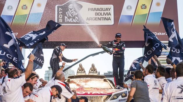 Dakar 2017: naša Tina po vrnitvi domov o dakarskem šampanjcu, novih zvezdah in starih facah (foto: Red Bull Content Pool, arhiv moštev)