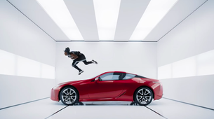 Vam je všeč ekskluzivni Super Bowl oglas za 2017 Lexus LC 500 coupe?
