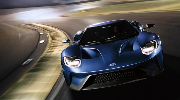 Ford GT je pokazal svojo moč (foto: Ford)