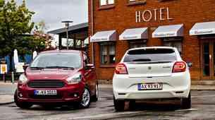Stari imeni, nova avtomobila: primerjamo Ford Ka+ in Suzuki Baleno