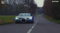 Kako je sedeti na sovoznikovem sedežu novega Bugatti Chirona, ko ta v 2,5 sekunde pospeši do 100km/h