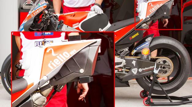 Razkrita Ducatijeva skrivnost? Govori se o skriti žiroskopski napravi. (foto: Dorna)