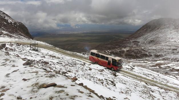 Najvišje ceste na svetu: kako visoko je mogoče pripeljati in kakšne težave lahko pričakujete? (foto: David Stropnik)