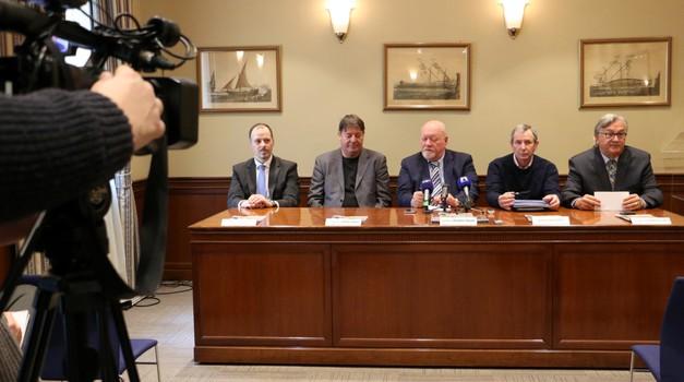 Kaj so povedali na tiskovni konferenci pred prenovo dirkališča Grobnik? (foto: Matevž Hribar)