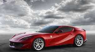 Najmočnejši in najhitrejši Ferrari doslej: Berlinetta 812 Superfast z 800-'konjskim' dvanajstvaljnikom