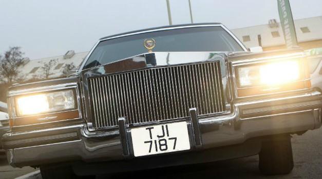 Naprodaj je Cadillac, v katerem se je nekoč vozil ameriški predsednik Donald Trump (foto: Exchange and Mart)