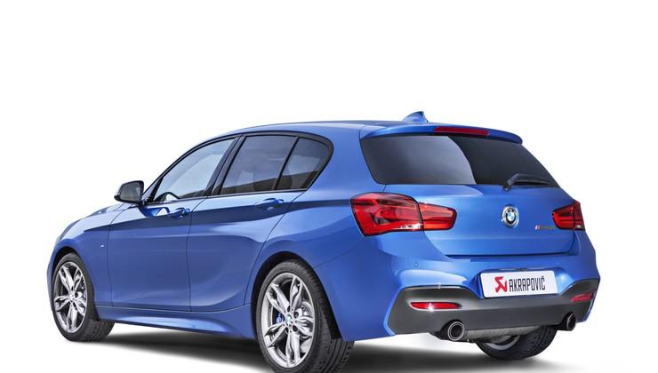 Akrapovičev izpuh za BMW-ja M140i in M240i omogoči več moči in rohnenja