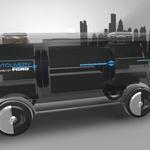 Ford s študijo Autolivery napoveduje prihodnje možnosti za dostavo pošiljk (foto: Ford)