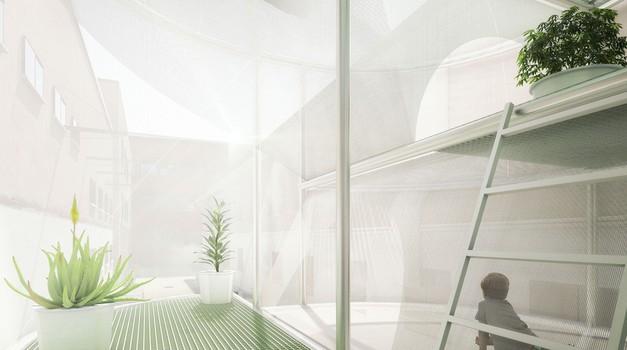 Mini bo na sejmu bivalne kulture v Milanu prikazal svojo vizijo stanovanja prihodnosti (foto: Mini)