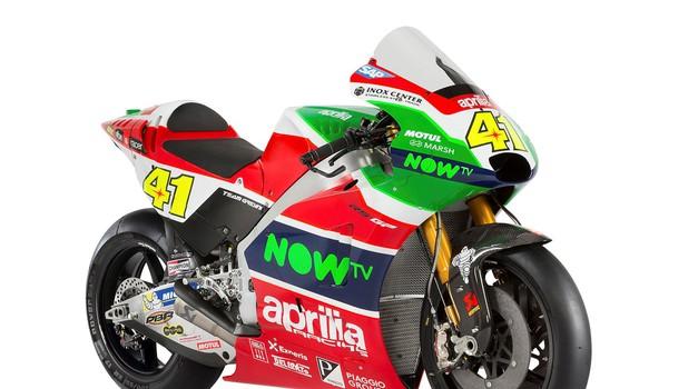 Povsem nova zunanja podoba Aprilije za MotoGP (foto: Aprilia)