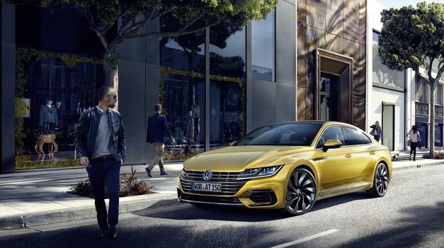 Arteon, naslednik CC-ja, je zrasel in se dvignil nad Passata (foto: Volkswagen)