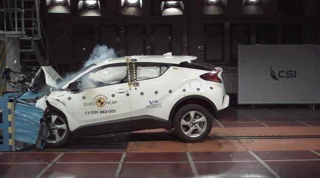 Športni terenci dobro varujejo potnike, majhni avtomobili pa malo manj. Tako pravi EuroNCAP (foto: Euroncap)
