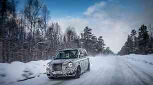 Električni taksi na preskusih v polarnem mrazu