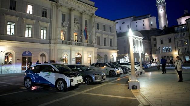 Prva etapa tridnevnega ECOnova Rallyja se je uspešno zaključila; danes ob 14. uri se bo ustavil tudi v Ljubljani (foto: ECOnova)
