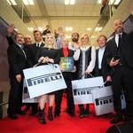 V Centru mobilnost Špan odprli kolesarski center in podelili Pirellijeve koledarje (foto: Špan)