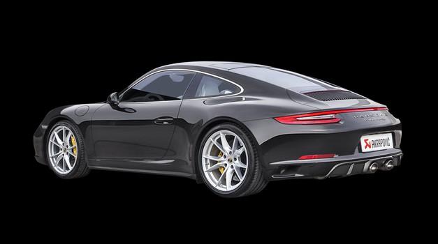 Pri Akrapoviču so izboljšali izpuh Porscheja 911 Carrere (foto: Automedia)