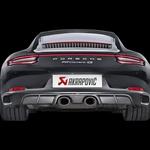 Pri Akrapoviču so izboljšali izpuh Porscheja 911 Carrere (foto: Akrapovič)