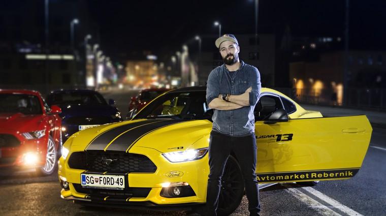 Na Avtomobilskem salonu Slovenije tudi Filip Flisar (foto: Danijel Čančarevič)