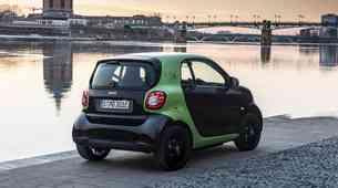 Smart Fortwo in Forfour Electric Drive sta zelo uporabna električna avtomobila