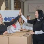 Člani kluba OMV Smile & Drive so Anini zvezdici darovali več kot 45 ton hrane (foto: OMV Slovenija)