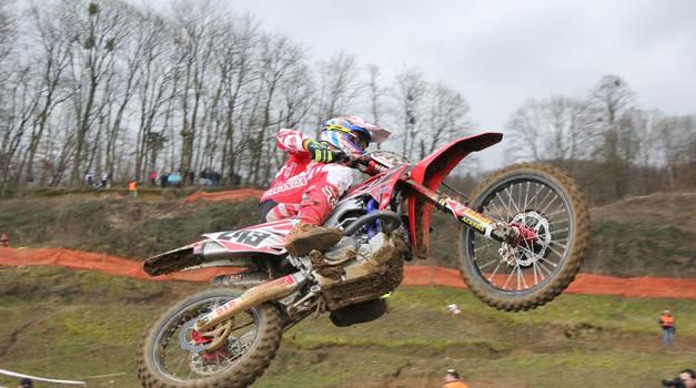 Začetek državnega prvenstva v motokrosu že to nedeljo v Brežicah s Timom Gajserjem (foto: Peter Kavčič)