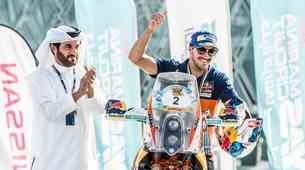 Puščavski izziv v Abu Dhabiju osvojil Sunderland pred Quintanillom in Walknerjem (foto, video)