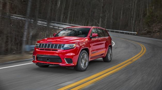 Jeep Grand Cherokee Trackhawk je najmočnejši in najhitrejši SUV (foto: Jeep)