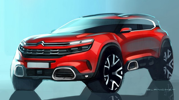 Citroën na Kitajskem predstavlja novega križanca srednjega razreda (foto: Citroën)
