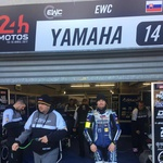 Endurance: Yamaha slavila, Jerman na prigaranem 8. mestu