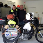 Spoznajte Koprčana, ki je to zimo s Kawasakijem KLR 650 potoval od Kanade do Peruja (foto: Matevž Hribar, Niko Peroša)
