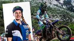 Najhitrejša motokrosistka na svetu Kiara Fontanesi na svojem Facebook profilu pokazala ta zadnjo