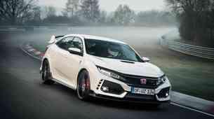Honda Civic Type R je najhitrejši avtomobil s prednjim pogonom na Nordschleife