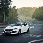 Honda Civic Type R je najhitrejši avtomobil s prednjim pogonom na Nordschleife (foto: Honda)