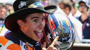 MotoGP: španski šerif Teksasa že petič zmagal v Austinu, Rossi s kazenskim pribitkom