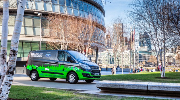 """Fordov poskus """"Cleaner Air for London"""" postaja oprijemljiv (foto: Ford)"""