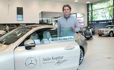 Anže Kopitar je novi ambasador Mercedesa-Benza
