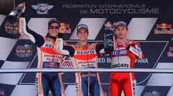 MotoGP, Jerez: zmaga Pedrosi, Lorenzo končno na stopničkah. Čez dve leti električni dirkalniki!