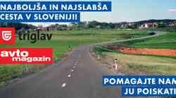 Akcija: najboljša in najslabša cesta v Sloveniji - poiskali ju bomo z vašo pomočjo!