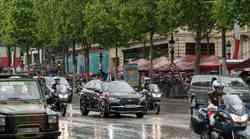 Francoski predsednik se je na inavguracijo pripeljal z novim DS7 Crossbackom