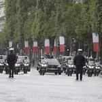 Francoski predsednik se je na inavguracijo pripeljal z novim DS7 Crossbackom (foto: Newspress)