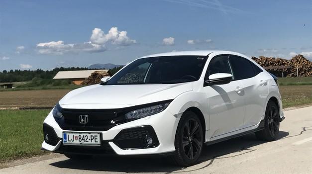 Novo v Sloveniji: Honda Civic prihaja že v deseti generaciji (foto: Tomaž Porekar)