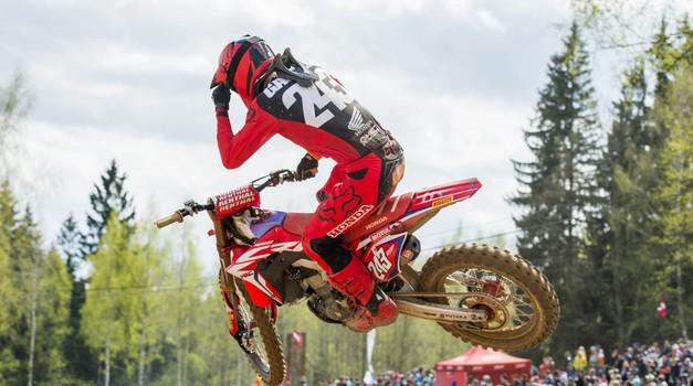 Uradno: Tim Gajser BO dirkal na MXGP dirki v Nemčiji! Od Slovencev Teutschenthal tudi Jernej Irt. (foto: hondaproracing.com)