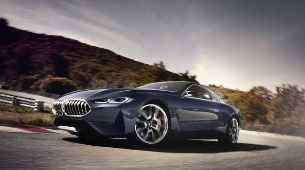 Prestižna premiera študije BMW-ja serije 8 na Lagu di Como (foto: BMW)