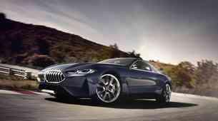 Prestižna premiera študije BMW-ja serije 8 na Lagu di Como