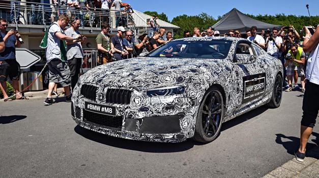Na Nürburgringu se je predstavil BMW M8 (foto: BMW)