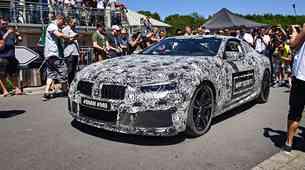 Na Nürburgringu se je predstavil BMW M8