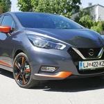 Nissan Micra je popolnoma nova pripeljala v Slovenijo (foto: Matija Janežič)
