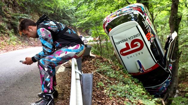 Reli: Huda nesreča Grega Premrla z DS 3 R3T, smola Turka in četrto mesto Grossija!