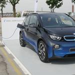 BMW-jeva električna karavana v Ljubljani (foto: Matija Janežič)